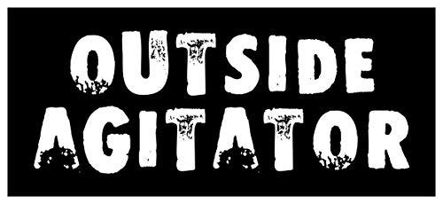 Paper Sticker Outside Agitator Punk Anarchist Radical Socialist Anarchist