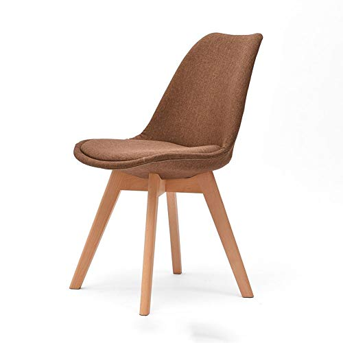 Retro Home Dining Chair Study Work Chair Electronics Factory Seat Bar Front Desk Chair Solid Wood Four-Legged Chair 0710A (Color : C)