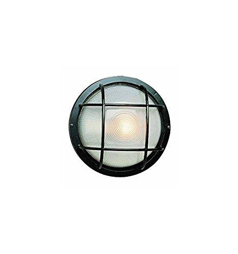 Manufacturers Direct CB-41505 BK Round Bulkhead Light Fixture