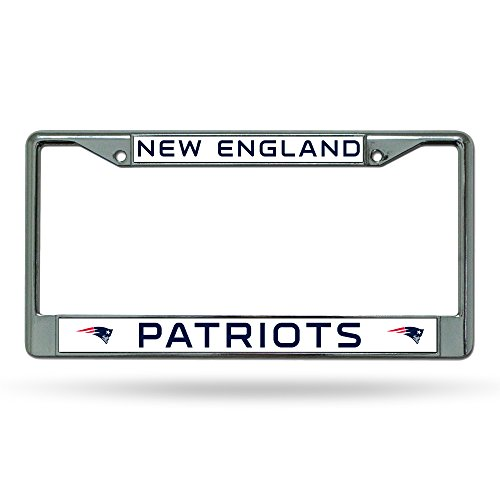 NFL New England Patriots Chrome License Plate Frame Nfl License Plate Frame