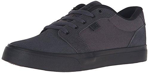 DC Mens Anvil Action Sports Shoe, Carb?n/Negro, 40 D(M) EU/6.5 D(M) UK