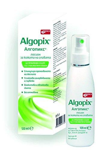Loción Algopix para el cuero cabelludo, 120 ml para cabello ...