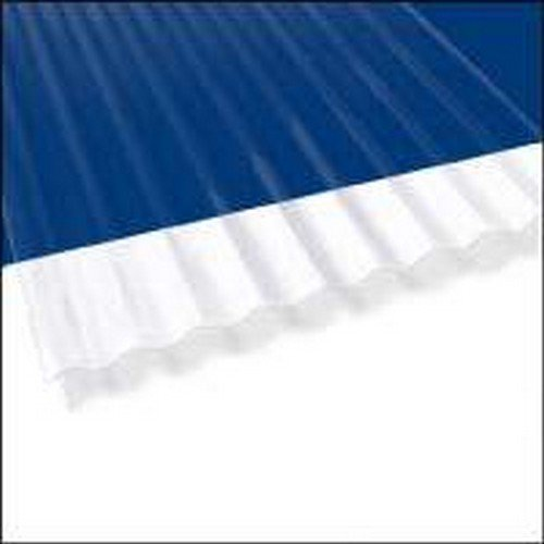 Palram Americas 100423 Palruf Pvc Corrugated Panel, 8' X 26'', Clear (Pack Of 10)