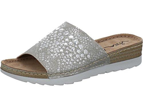 Vista Women's Clogs Silver LEtM5wYp6