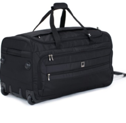 delsey-helium-hyperlite-28in-trolley-duffel-black