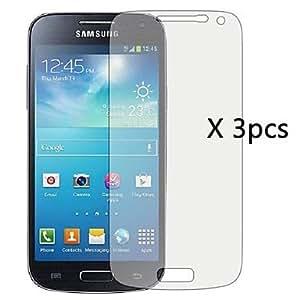 Jia 3pcs HD Clear Screen Protector for Samsung S4 mini