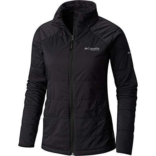 Columbia Titanium Alpine Traverse Jacket - Women's Shark/Black Heather, L