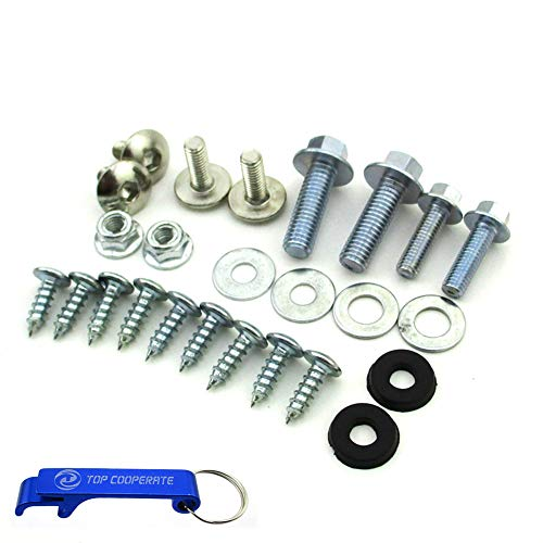 TC-Motor Plastic Fairing Tank Mount Screw Panel Bolts For Chinese CRF50 Pit Dirt Bike Motorcycle 50cc 70cc 90cc 110cc 125cc 140cc 150cc ()
