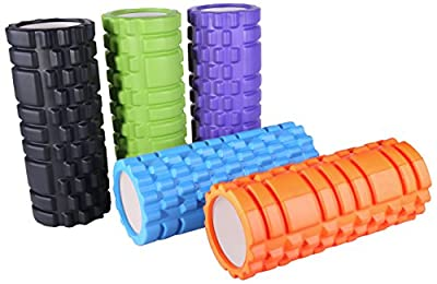 BalanceFrom Deep-Tissue Massage and Trigger-Point Muscle Therapy Foam Roller by BalanceFrom
