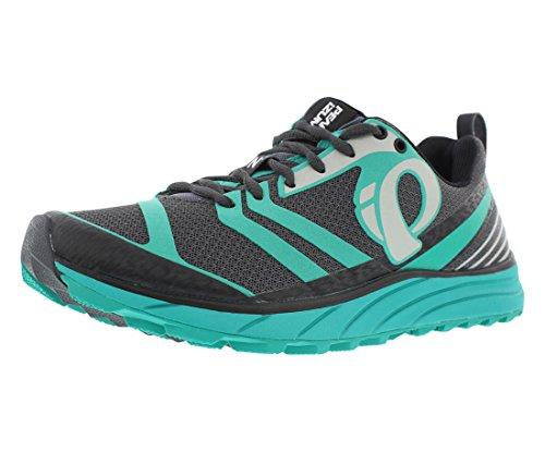 Pearl Izumi Women's W EM Trail N 2 Trail Running Shoe, Shadow Grey/Dynasty Green, 11 B US by Pearl iZUMi