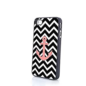 Generic Dragon Anchor Cute Colorful Classical Cartoon Matte Pattern PC Phone Cases fit for iPhone 4/4S Cases