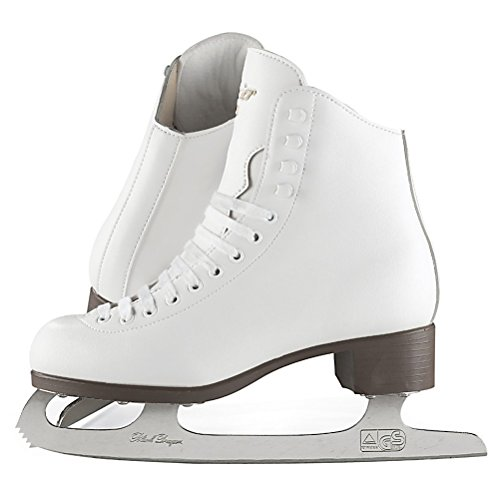 Jackson Ultima Glacier GSU124 White Toddler Ice Skates, Size 9
