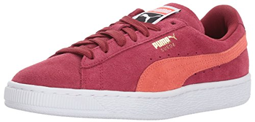 PUMA Women's Suede Classic Wn, Tibetan Red-Hot Coral, 11 M US