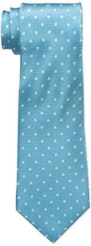 - Countess Mara Men's Toledo Dot Tie, Aqua, One Size