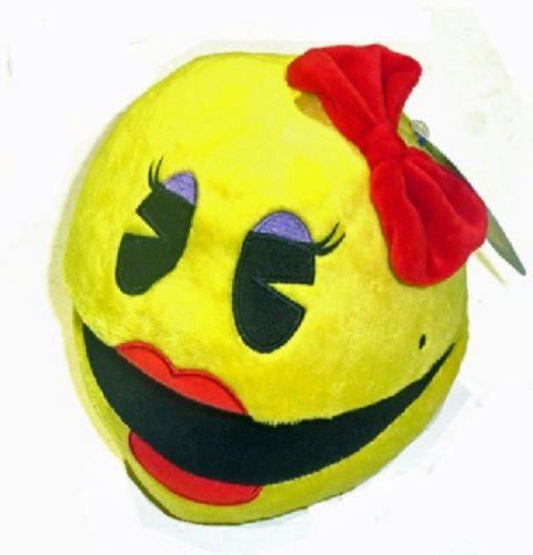 PACMAN 3 SOFT TOY GENUINE LICENSED UK DISPATCH** by Pac Man
