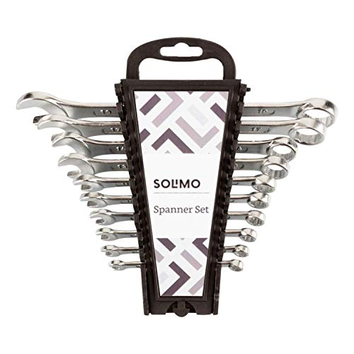 Amazon Brand – Solimo Carbon Steel Combination Spanner Set (Pack of 10) Price & Reviews