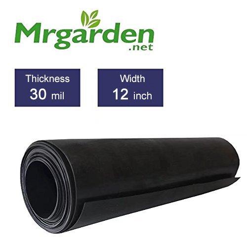 Mr. Garden 30mil 12''-W x 40'-L Root Barrier Water Barrier Garden Edge Sheet by Mr Garden