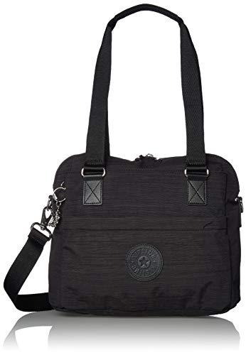 Kipling Women's Giselle Handbag Convertible Cross Body, Black DAZZ, One Size
