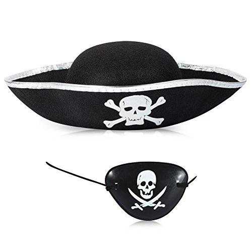 Silver Pirate Hat - 6