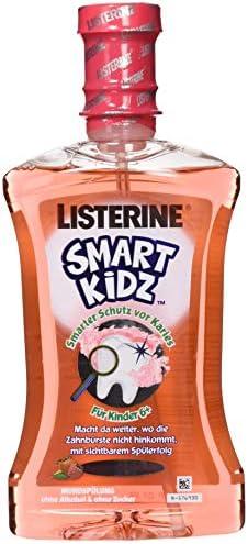 [Gesponsert]LISTERINE Smart Kidz Beere – Mundspülung für Kinder ab 6 Jahren – Mundspülung mit Beerengeschmack – 1 x 500 ml