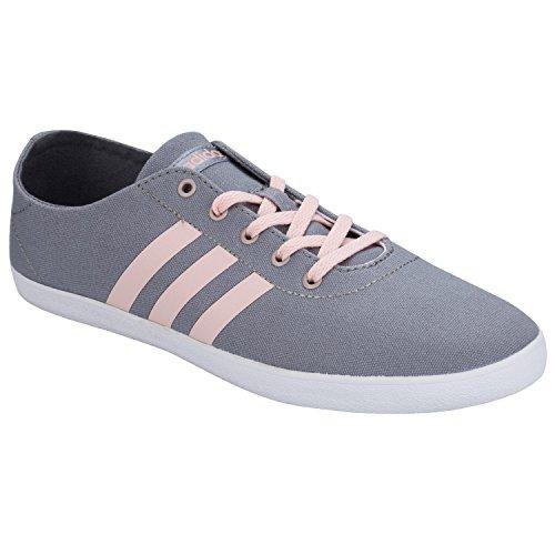 adidas Qt Vulc Vs W, Zapatillas de Deporte para Mujer Gris (Gris / Rosvap / Grmeva)