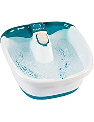 HoMedics Bubble Mate Foot Spa, Toe-touch control, Heat maintenance helps maintain warm water temperature, Removable pumice stone, FB-55