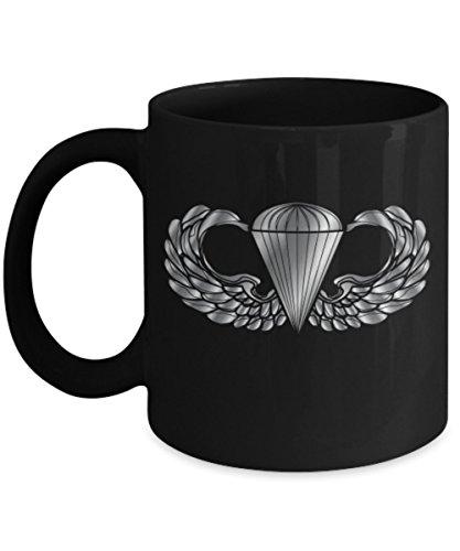 Airborne Coffee Mug - Parachutist Badge ()