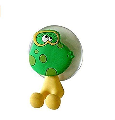 jakerbing silicone Spazzolino da denti titolare set bagno a parete gancio ventosa Frog