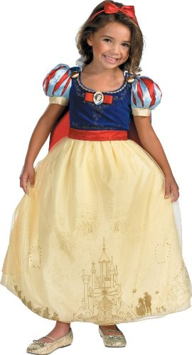 Storybook Snow White Costumes (Storybook Snow White Prestige Child Costume - Small)