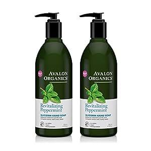 Amazon Com Avalon Organics Glycerin Hand Soap Peppermint
