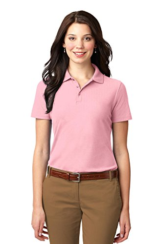Port Authority Women's Stain Resistant Polo XXL Light Pink