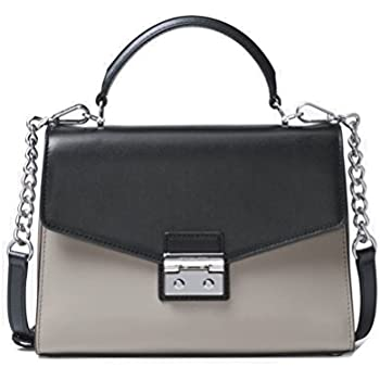9a613f9e1ca68 Amazon.com  MICHAEL Michael Kors Sloan Medium Top-Handle Leather ...