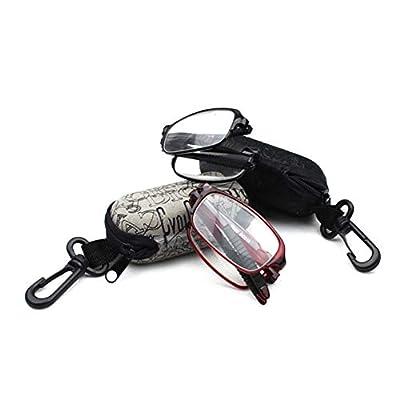 riverbin Ultra-Light Portable Folding TR90 Strength Presbyopic Glasses Reading Glasses