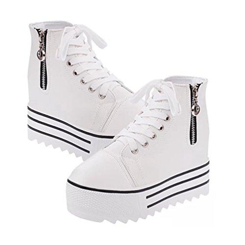 Lona JRenok de Zapatillas Mujer Blanco Deporte de wrpIWnr6