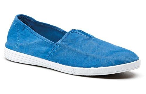 Natural World Eco Scarpe Sneakers Vegan per Uomo in Tela, con Elastico, Stile Classico, Disponibili in Vari Colori - Modello 305E 659