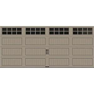 Gallery collection 16 ft x 7 ft 18 4 r value intellicore for 16 foot garage door strut