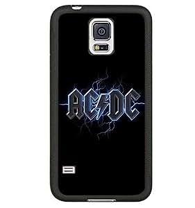 Stylish Funda Cover For Galaxy S5 Funda, Samsung Galaxy S5 I9600 Funda With Band Picutres- ACDC
