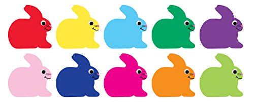 Hygloss Products Bunnies Classroom Accents – Creative Teaching Resources – 7 Inches, 30 ()