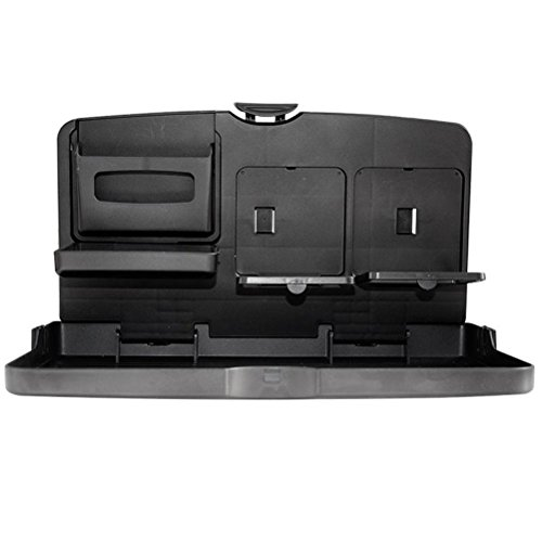 MQYH@ Multipurpose Car Tray - Car Seat Activity & Snack Tray for A More Convenient Time in Your Car Black by MQYH@ (Image #2)