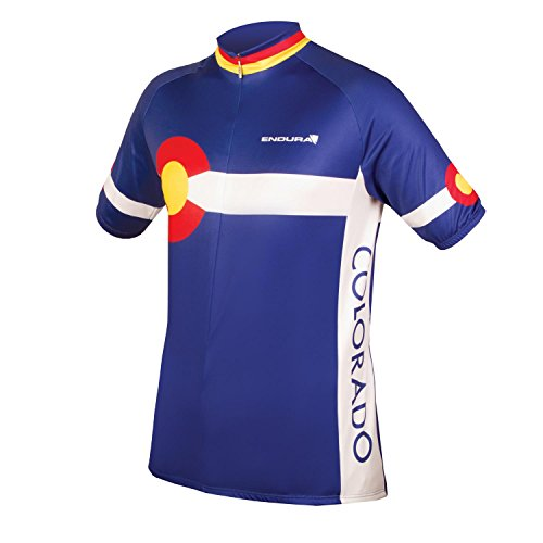 Endura Colorado II Short Sleeve Cycling Jersey, (Colorado Cycling Jersey)