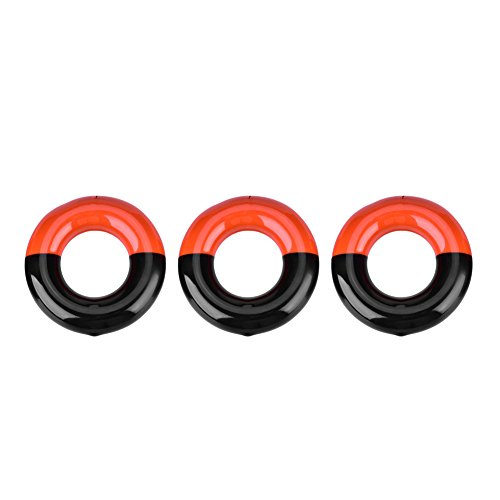 Dilwe 3 Pcs Golf Weighted Swing Ring, Golf Club Warm Up Swing Round Weight Ring for Practice Training by Dilwe