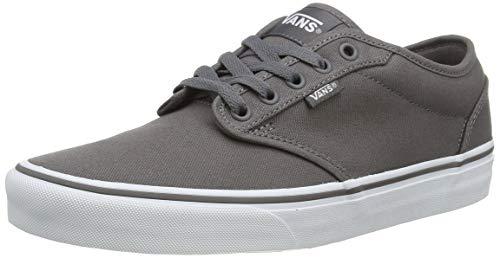Vans Men Low-Top Sneakers, Grey (Pewter/White), US:5.5