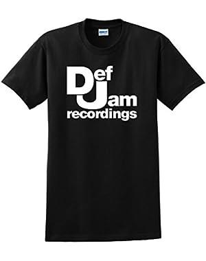 Def Jam Recordings T Shirt Classic Hip Hop Rap Music Unisex Tee Shirts