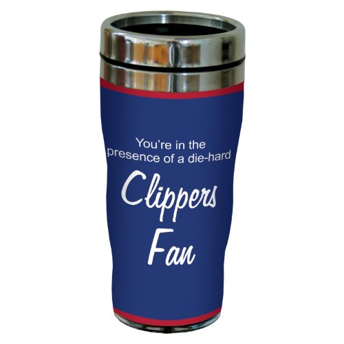 Tree-Free Greetings sg24151 Clippers Basketball Fan Sip