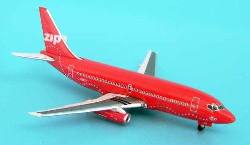 1: 500 インフライト Zip ボーイング 737-200 Red (並行輸入)