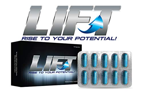 LIFT ~ Rise to Your Potential! Amplify Your Recovery, Endurance and Energy Naturally! (Best Over The Counter Male Performance Enhancer)