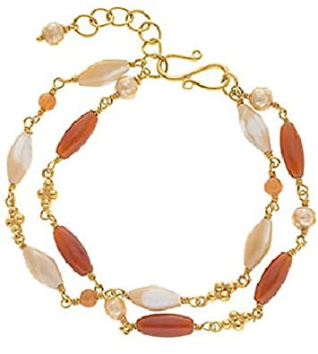 b9a197183 Buy The Museum Outlet - Tiffany Bead Bracelet Online at Low Prices in India    Amazon Jewellery Store - Amazon.in