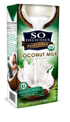 SO DELICIOUS BEV MLK CCNUT UNSWT ORG, 32 FO