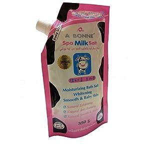 A Bonne Spa Milk Salt - Moisturizing Bath Salt - 350g/12.4oz