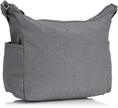 43452cf83f Kipling Women s Alenya Shoulder Bag (Cool Grey)  Amazon.in  Shoes   Handbags